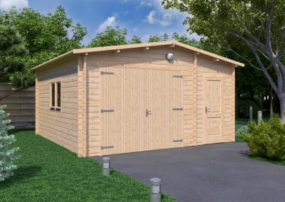Garage 5x5m 44mm